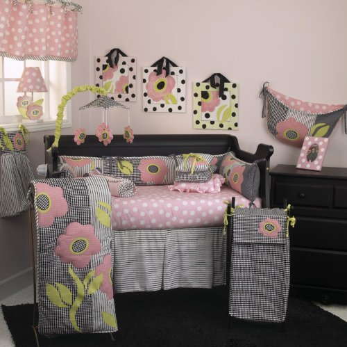 Cotton Tale Designs 8 Piece Bedding Set, Poppy