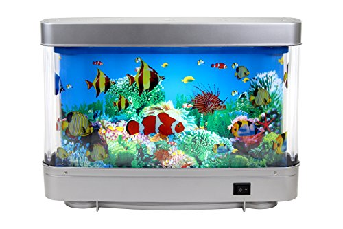 Artificial Aquarium Decorative Fish Lamp with Ocean in motion