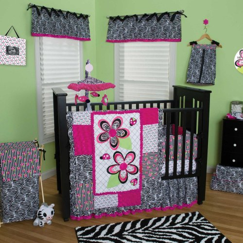 Zahara 4 Piece Baby Crib Bedding Set by Trend Lab