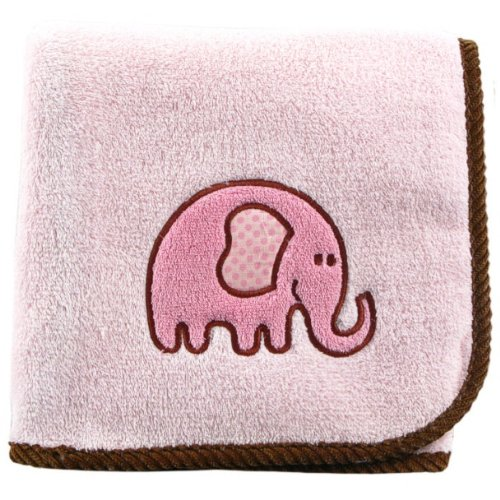 elephant crib bedding fleece blanket