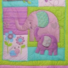 Elephant Crib Bedding thumbnail