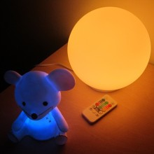 soft glow ball night light for toddlers